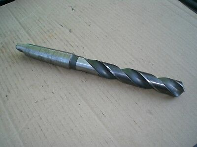 """Cle-Forge 1 1/8"""" Drill Bit Morse Taper 4 Shank MT4 13"""" long  USA"""