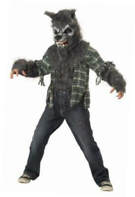howling at the moon child costume, size extra large