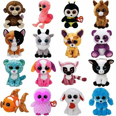 "Ty Beanie Boos 6"" Regular Sz - Choose your favourites"