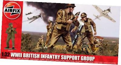 airfix a04710 wwii british infantry support set 1:32 scale military series 3