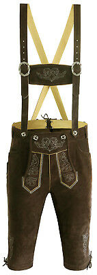 Authentic German Bavarian Oktoberfest Trachten Lederhosen Bundhosen Kniebund GS1
