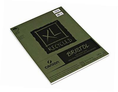 canson 11-inch by 14-inch extra long recycled bristol paper pad, 25-sheet