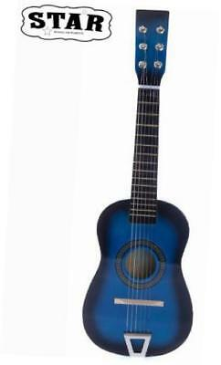 mg50-bl kids acoustic toy guitar 23-inch, blue