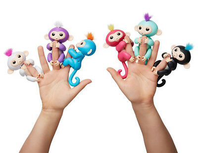Children Interactive Baby Monkey Electronic Toy Finger Doll for Christmas