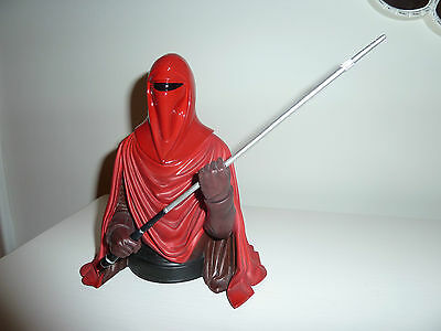 Star Wars imperial ROYAL GUARD half mini bust statue Gentle Giant Red Soldier