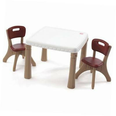 step2 table and chairs set (tan)