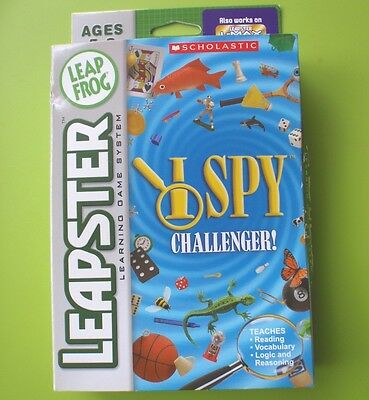 Leap Frog Leapster - I Spy Challenge Game Cartridge - Unused