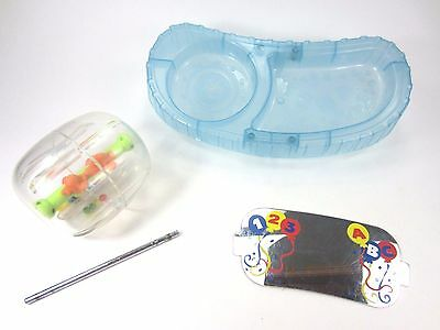 Evenflo Exersaucer Replacement Part Switch Roo TOY Mirror Snack Tray Spinner Lot