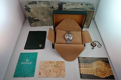 Rolex Datejust Men's Watch Stainless - Jubilee Band - W/box & Paperwork - Vg