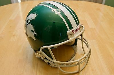 Michigan State Game Used & Game Worn Football Helmet / 1995-2000 Style