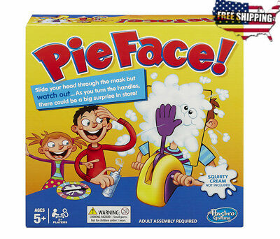 Pie Face Showdown Family Game Fun Holiday Hilarious Splat In The Face Kids Gift
