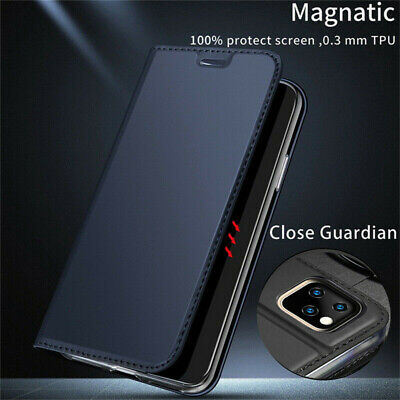 Leather Flip Magnetic Wallet Card Case Cover For iPhone XS Max XR X 8 7 11 Pro