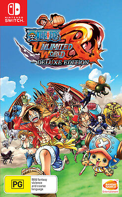 One Piece Unlimited World Red Deluxe Edition Switch Game Brand new and sealed