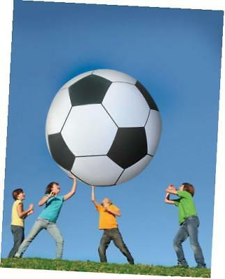 big mouth toys gigantic 6-feet foot tall soccer ball