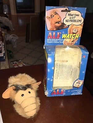 New Vintage ALF Wrist Watch 1986 Retro w/ Box (By Nelsonic) - Check Pictures