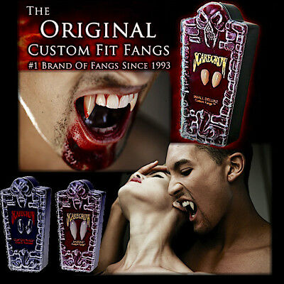 Scarecrow Vampire Fangs Deluxe Vampire Teeth Dental Quality Halloween Costume Ki