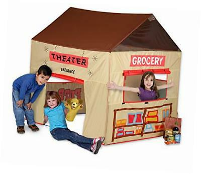 pacific play grocery store/puppet theater tent