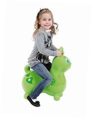 raffy the rabbit hop and ride, lime green