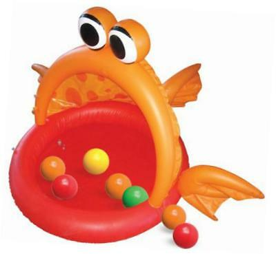 ball bounce and sport fish inflatable ball pit