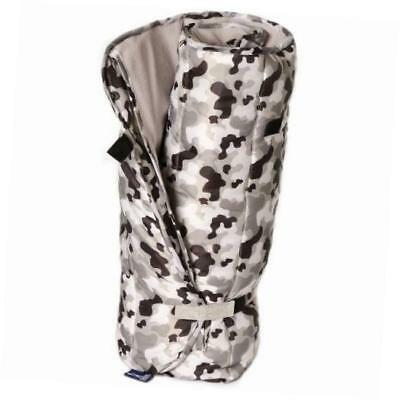 grey camo easy-clean nap mat, one size