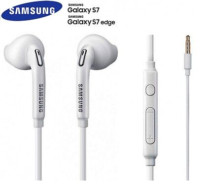 Samsung Earphone Earbuds Headphones With Mic For Galaxy S6 S5 S7 Note Edge