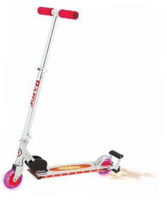 spark 2.0 kick scooter, red
