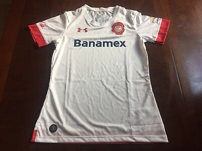 Under Armour Toluca Womens Soccer Football Jersey Size Small
