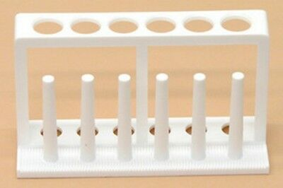 SEOH Test Tube Rack Stand for 6 Plastic up to 18mm Tubes