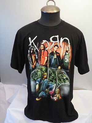 Korn Shirt - Follow the Leader and Band Graphic - True Vintage - Men's Large