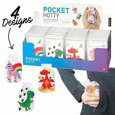 POCKET HOTTY - Soft Touch Case Pocket Hand Warmer - Reusable **FREE DELIVERY**