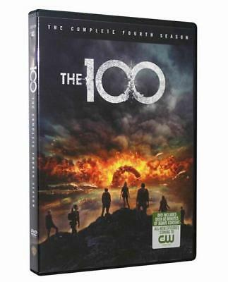 The 100 Season 4 (DVD, 2017, 3-Disc Set) Brand New Sealed