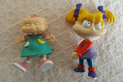 Angelica and Lillian Rugrats Figures 1997 Nickelodeon Tommy Pickles Chucky