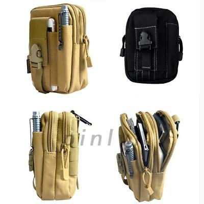 Portable Outdoor Tactical Waist Pack Belt Bag EDC Camping Hiking Pouch Wallet