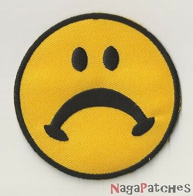 PP-13 Ecusson embroidered badge patch fusible EMOTICON not content