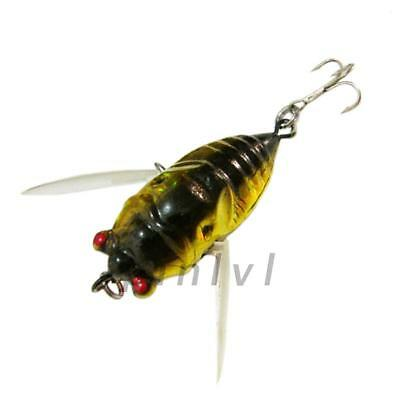 New Fishing Tackle Lure Snakehead Bass Killer Insect Freshwater Treble Hook