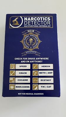 Drug Test - Narcotics Detector test kit - check for drugs anywhere & on anything