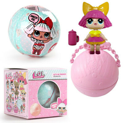LOL Surprise Dolls Fizz Ball Dress Up Toys Charm Collectible Have Box