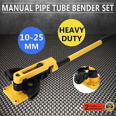 10-25mm Manual Pipe Tube Bender Metal Bending Round/Square Wire Pipe Handheld