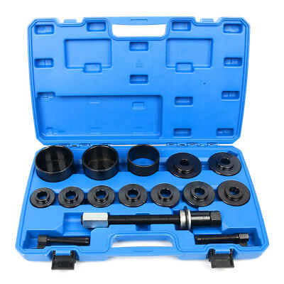 Universal 19PC Front Wheel Hub Drive & Bearing Puller Master Kit Removal Install