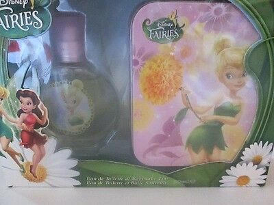 Disney Fairies Eau De Toilette BONUS Keepsake Tin