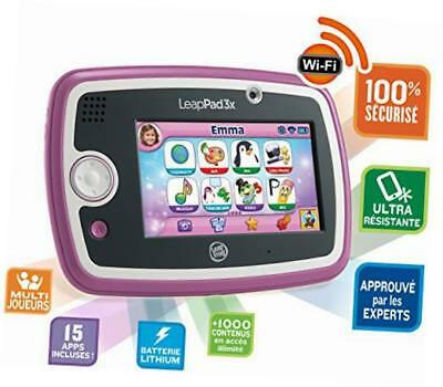 leappad3x learning tablet, pink (french)