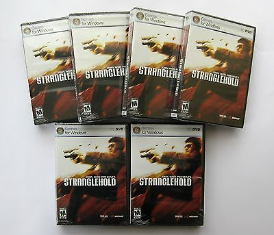 6 x Stranglehold PC Games Wholesale Lot ***New & Sealed - Clearance Stock****