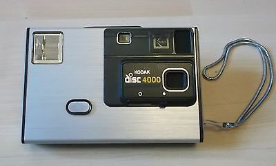 Kodak Disc 4000 Vintage Camera with Pouch