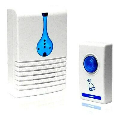 LED 32 Tune Songs Wireless Chime Door Bell Doorbell & Wireles Remote Control MM
