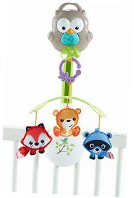 woodland friends 3-in-1 musical mobile toy
