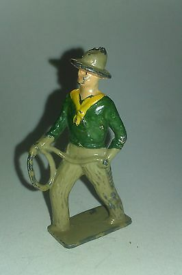 Vintage 1930's/40's lead COWBOY toy figurine.Nice condition.