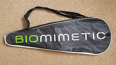 Dunlop Biomimetic fully padded squash racket cover