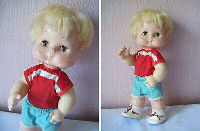 Russian Vintage Athlete Little Doll,Plastic,Askim Factory,USSR,70's. New! Tag!