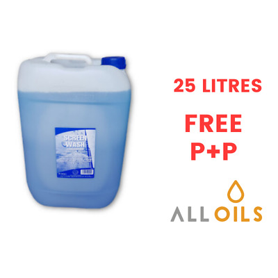 Screenwash Concentrate 25 L 25 Litres Screen Wash Coolant For All Seasons -24C