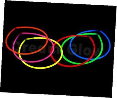 "22"" premium glow stick necklaces (assorted tube of 50)"